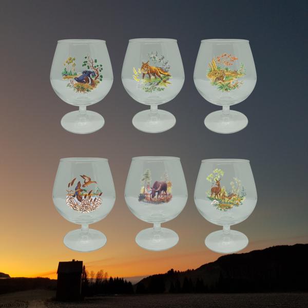 Villmarksserien i glass